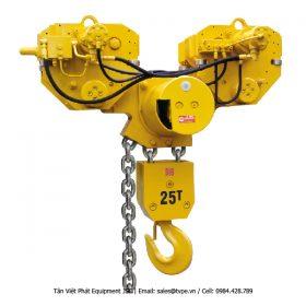 Pa lăng thủy lực 25 tấn; Model: LCH250Q