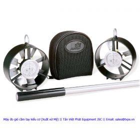 Máy đo gió cầm tay kiểu cơ (Mỹ)