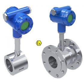 Lưu lượng kế đo Gas kiểu điện tử phòng nổ