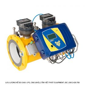 Lưu lượng kế đo Gas kiểu cơ dòng FMT-Dc